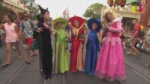 Así se vive una noche de Halloween en Disney Video: