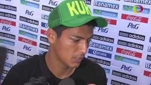 Venegas sufre cortada en ceja Video: