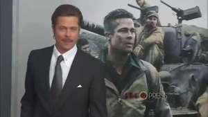 Brad Pitt confiesa haber vivido dentro de un tanque Video: