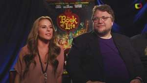 The Book of Life con Guillermo Del Toro, Kate Del Castillo y Jorge Gutierrez Video: