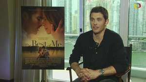 Entrevista exclusiva con James Marsden sobre 'The Best of Me' Video: