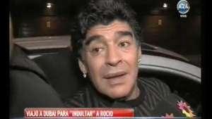 Maradona viaja a Dubai a