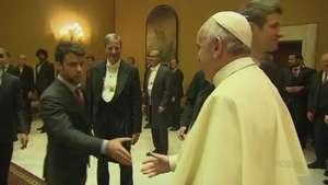 El Bayern, bendecido por el Papa Video:
