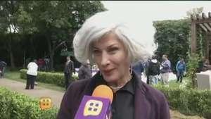 Patricia Bernal no descarta hacer cine con su hijo Gael García Video: