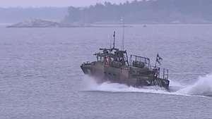 Suecia a la busca y captura de submarino Video: