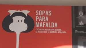 Cinco cocineros españoles tratan de seducir a Mafalda con sopas Video: