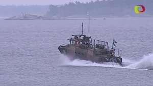 Suecia sigue en busca de minisubmarino Video:
