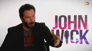 Entrevista con Keanu Reeves protagonista de John Wick Video: