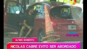 Susto para Cabré: ¿intento de robo o accidente? Video: