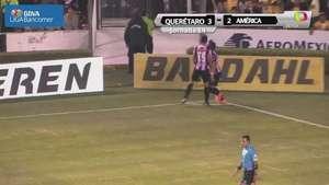 Jornada 14, Querétaro 3-2 América, Apertura 2014 Video: