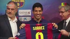 Luis Suárez, listo para jugar el clásico Real Madrid-Barcelona Video: