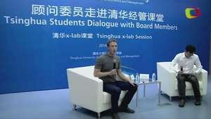 Mark Zuckerberg habla en mandarían a universitarios en China Video: