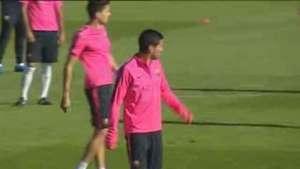 Debut de Luis Suárez acapara la atención del duelo Barça-Real Madrid en el Bernabéu Video: