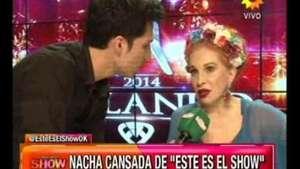 Bailando 2014: tenso cruce entre Nacha Guevara y un notero Video: