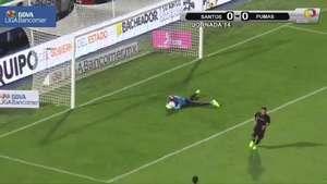 Jornada 14, Santos 1-1 Pumas, Apertura 2014 Video: