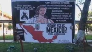 Familiares exigen que no se criminalice a estudiantes desaparecidos en México Video:
