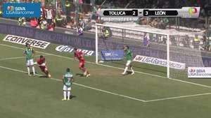 Jornada 14, Toluca 2-3 León, Apertura 2014 Video: