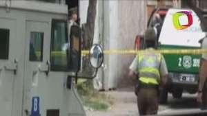 Asaltan camión blindado cerca de la sede del gobierno chileno Video: