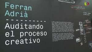 Ferran Adrià muestra su proceso creativo Video: