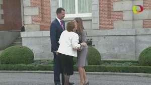 Chile: Bachellet de visita en España Video: