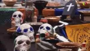 Bolivia y México recuerdan a sus difuntos con