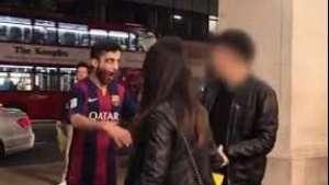 El jugador Luis Suárez siembra el terror en Londres Video: