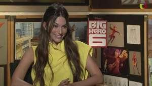 Génesis Rodríguez le endulza la voz a 'Honey Lemon' en 'Big Hero 6' Video: