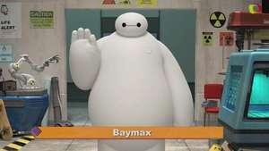 'Big Hero 6': María Salas conoce a Baymax, el robot que te roba el corazón Video: