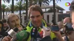 Nadal recibe el alta tras ser operado de apendicitis Video: