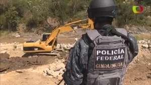 PF inspecciona cerros y ríos para ubicar a 43 normalistas Video:
