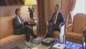Visita de Juan Manuel Santos a Portugal Video:
