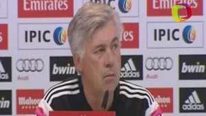 Ancelotti apuesta por Cristiano para el 'Balón de Oro' Video: