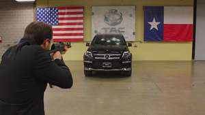 Video: Mercedes-Benz vs AK-47 Video: