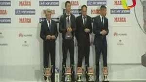 Ronaldo y Simeone protagonistas en la entrega de los premios Marca Video: