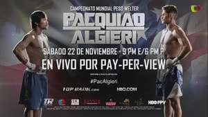 Algieri rumbo a la pelea más grande de su vida contra Pacquiao Video:
