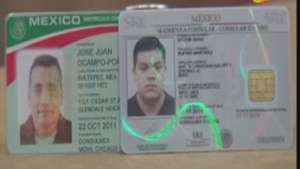 México presenta a inmigrantes nueva matrícula consular Video: