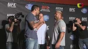 Fabricio Werdum le dio alegría al media day del UFC 180 Video: