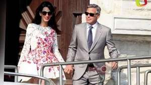 Los Clooney...ya embarazados? Video: