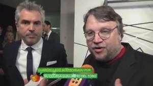 Alfonso Cuarón y Guillermo del Toro preocupados por sucesos en México Video: