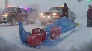 Ocho muertos por tormenta de nieve en Estados Unidos Video: