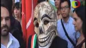Manifestaciones mundiales se unirán a marchas en México en favor de  desaparecidos Video: