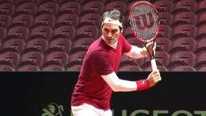 Esperanza de jugar para Federer Video: