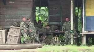 """Operativo """"en marcha"""" para liberar rehenes de las FARC Video:"""