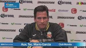 Jornada 17, Mario García Aux. Tec. , Morelia1-2 Guadalajara, Apertura 2014 Video: