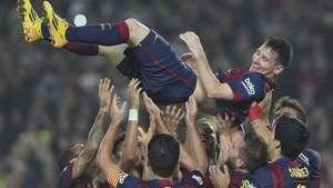Con triplete, Messi se vuelve el mayor goleador de la Liga Española Video: