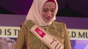 La nueva Miss Musulmana pide por Palestina Video: