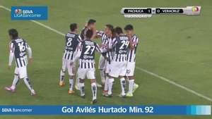 Jornada 17, Pachuca 1-0 Veracruz, Apertura 2014 Video: