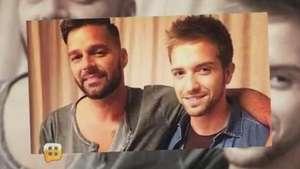 ¿Pablo Alborán en romance con Ricky Martin?  Video: