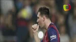 Messi bate el récord de goles de Zarra en la Liga española Video: