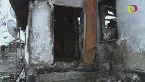 Ucrania, con casas destruidas y sin electricidad en invierno Video: